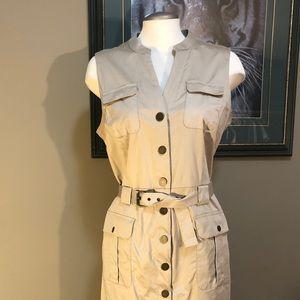 Banana Republic Safari/Cargo Style Dress